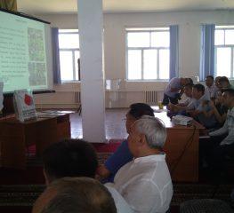 Точечные консультации для фермеров Алматинской и Жамбылской областей.