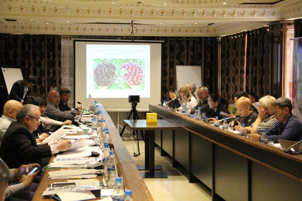 Встреча Национальных технических групп в Душанбе