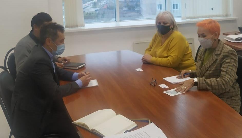 Встреча с руководством ТОО «Национальный центр аккредитации»