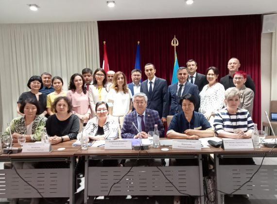 Ознакомительная встреча по региональному  обмену опытом научно-предпринимательских  платформ (НПП) стран Центральной Азии